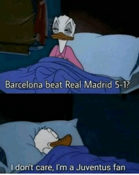 CR7 fans left Real Madrid when he did! 😂👌🙃: Barcelona beat Real Madrid 5-1?  I dont care, I'm a Juventus fan CR7 fans left Real Madrid when he did! 😂👌🙃