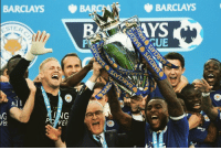 Leicester City have reportedly sacked Claudio Ranieri, less than 9 months after winning the Premier League.: BARCLAYS  BARR  TER  in  ING  PORNER  BARCLAYS Leicester City have reportedly sacked Claudio Ranieri, less than 9 months after winning the Premier League.