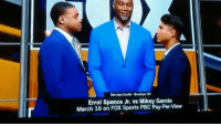 Memes, Sports, and Brooklyn: Barclays Center Brooklyn, NY  Errol Spence Jr. vs Mikey Garcia  March 16 on FOX Sports PBC Pay-Per-View 3-16-2019 💥🥊 Mikey & Errol Will Square off 🙌🏻😳 mikeyGarcia errolSpence spenceGarcia