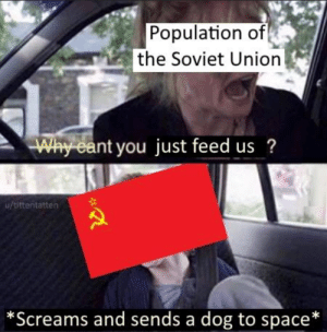 *barks in space soviet russia*: *barks in space soviet russia*