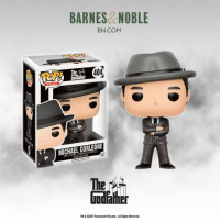 Fathers Day, Memes, and Barnes & Noble: BARNES NOBLE  BN.COM  404  MICHAEL CORLEONE  The  TM602017 Paramount Pictures. AllRights Reserved. Just in time for Father's Day -- get the exclusive Michael Corleone Funko only at Barnes & Noble, limited edition and while supplies last.  http://bit.ly/2rs5k5T