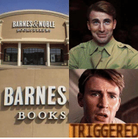 ... Bucky...: BARNES&NOBLE  BOOKSELLERS  BARNES  BOOKS  TRIGGERED ... Bucky...