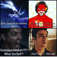 ONGOMGOMGOMGOGMG.GMG WHO MADE THIS AHHHHHHHHHH OMGGMGMGMGM THE FLASH AND SUPERNATURAL OMG I LIVE FOR THIS: Barry changed the timeline My  name is sam Winchester  Again  And m the fastest man alive!  Saaaaaaaaaaaam?!?!  What the hell?!  How? just...I...0h! Crap! ONGOMGOMGOMGOGMG.GMG WHO MADE THIS AHHHHHHHHHH OMGGMGMGMGM THE FLASH AND SUPERNATURAL OMG I LIVE FOR THIS
