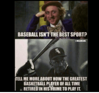 Can't deny the truth. ⚾️💯: BASEBALL ISNT THE BEST SPORT?  MLBMEME  TELL MEMOREABOUT HOW THEGREATEST  BASKETBALL PLAYER OF ALL TIME  RETIRED IN HIS RRIME TO PLAYIT Can't deny the truth. ⚾️💯