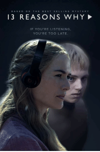 """""""Cersei Lannister, welcome to your tape."""" 😂😂 #GameofThrones #13ReasonsWhy https://t.co/KZoUngU1KY: BASED  ON THE  BEST  SELL  N G  M Y S T E R Y  13 REASO N S WHY  IF YOU'RE LISTENING  YOU'RE TOO LATE """"Cersei Lannister, welcome to your tape."""" 😂😂 #GameofThrones #13ReasonsWhy https://t.co/KZoUngU1KY"""