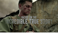 Guns, Memes, and True Story: BASED ON THE  CREDIBLE UE STORY Hacksaw Ridge is the extraordinary true story of Desmond Doss [Andrew Garfield] who, in Okinawa during the bloodiest battle of WWII, saved 75 men without firing or carrying a gun... NOW PLAYING!