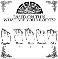 Greek: BASED ON THIS  WHAT ARE YOUR ROOTS?  egyptian  Roman  Greek  Germanic  Celtic Greek
