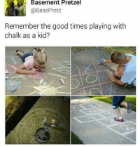 Memes, 🤖, and Arms: Basement Pretzel  BasePretz  Remember the good times playing with  chalk as a kid? It cost me an arm and a leg Animu: FMA fullmetalalchemist fullmetalalchemistbrotherhood fma anime otaku funnyanime animefunny animememe