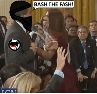 Hillary Clinton, Violent, and Resistance: BASH THE FASH!  NTI