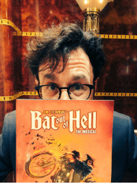 Last night I saw Bat Out Of Hell The Musical with my playwright buddy Nicky Silver aka @thenycwriter, which is the most surreal theater Mad Libs pairing I could devise, we had the best time https://t.co/9eIwIk9SnL: Bat Hell  JIMSTEINMAN'S  THE MUSICAL Last night I saw Bat Out Of Hell The Musical with my playwright buddy Nicky Silver aka @thenycwriter, which is the most surreal theater Mad Libs pairing I could devise, we had the best time https://t.co/9eIwIk9SnL