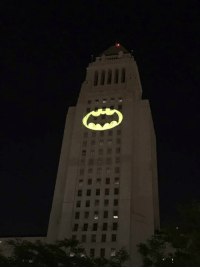 Bat-Signal shines in honor of Adam West ~Oracle: Bat-Signal shines in honor of Adam West ~Oracle