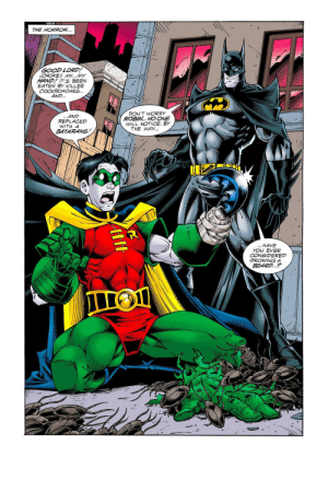 Batman always gives the best advice.: Batman always gives the best advice.