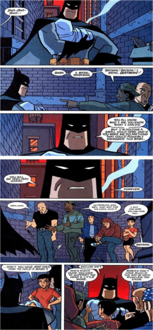 Batman, Can, and All: BATMAN BATMAN  YOU ALL KNOW  CAN DO  L'M HOLDING A  .OONT  TLE  KNOW I need to know what issue this is