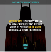 Really loved this cartoon. And you? - JusticeLeague ClarkKent DawnOfJustice Dc BruceWayne ManOfSteel Games HenryCavill MarkHamill Superman Cyborg WonderWoman Aquaman Joker Comics Artwork Movie 2017 InstaGood BatmanvSuperman Batman TheFlash TheDarkKnight JLA DcUniverse BatmanTheAnimatedSeries Tvshow series kevinkonvoy cinena_facts: BATMAN: THE ANIMATED SERIES  KEVIN CONROY  IS THE FIRST PERSON  IN ANIMATION TO USE TWO DISTINCT  VOICES TO PORTRAY BRUCE WAYNE  AND BATMAN. IT WAS HIS OWN IDEA  CINEMA  FACTS Really loved this cartoon. And you? - JusticeLeague ClarkKent DawnOfJustice Dc BruceWayne ManOfSteel Games HenryCavill MarkHamill Superman Cyborg WonderWoman Aquaman Joker Comics Artwork Movie 2017 InstaGood BatmanvSuperman Batman TheFlash TheDarkKnight JLA DcUniverse BatmanTheAnimatedSeries Tvshow series kevinkonvoy cinena_facts