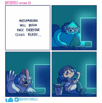 Once, Will, and Everyone: BATTLEFEELS EPISODE 32  MATCHMAKING  WILL BEGIN  ONCE EVERYONE  CLICKS READY  @R0RYCOMİCS Ready up https://t.co/cFhfd0Ol3d