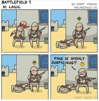 Cute, Logic, and Love: BATTLEFIELD 1  Al LOGIC  BY MART VIRKUS  ARCADERAGE.Co  THIS IS HIGHLY  SUSPICIOus!!  MART VIRKUS 17 Really suspicious! 👍Please like this picture,it would mean a lot:)👍 ➖➖➖➖➖➖➖➖➖ 💥Thanks for all the support💥 ➖➖➖➖➖➖➖➖➖ 🔥Love all my followers🔥 〰〰〰〰〰〰〰〰〰 -Tags(ignore) f4f bo3 codmemes cod sfs playstation blackops3 Battlefield1 callofduty infinitewarfare bo2 Microsoft gamer xboxone ps4 ps3 l4l gaming xbox360 Nintendo pc memes funnymemes shooters games love cute gta edgy me