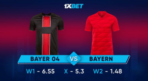 Bayer will host a more powerful Bayern. Guests are in excellent shape and the hosts are unlikely to be able to stop them. Who do you bet on?  Predict the outcome: https://t.co/Y6FAgB8A8c Follow: @1xbet_Eng https://t.co/XKOWvHPofr: Bayer will host a more powerful Bayern. Guests are in excellent shape and the hosts are unlikely to be able to stop them. Who do you bet on?  Predict the outcome: https://t.co/Y6FAgB8A8c Follow: @1xbet_Eng https://t.co/XKOWvHPofr