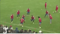 Soccer, Bayern, and Warming-Up: Bayern warming up only https://t.co/bVMhrYUf8h