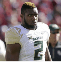 Baylor DE Shawn Oakman has been suspended and will miss the Bears' season opener. 🏈: BAYLOR Baylor DE Shawn Oakman has been suspended and will miss the Bears' season opener. 🏈