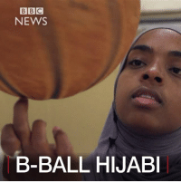 Basketball, Memes, and Muslim: BBC  NEWS  B-BALL HIJABI MAY 17: @fiba (International Basketball Federation) has changed its ruling on headgear. This means players like @qis_mo, who wear the hijab, will now be able to play professional basketball. Find out more: http:-bbc.in-2pbsmsp Basketball BBall Sports FIBA Hijab Muslim MuslimWoman HijabiMuslim Islam Massachusetts USA American BBCShorts BBCNews @BBCNews