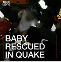"""Alive, Crying, and Family: BBC  NEWS  BABY  RESCUED  IN QUAKE This is the """"miracle"""" rescue of a seven-month-old baby from rubble after a deadly earthquake hit the Italian island of Ischia. The baby's family home had collapsed in the tremor, trapping him inside. Emergency services worked through the night to reach the infant and his family. The baby was pulled out crying - but alive - as bystanders applauded the rescue workers. At least two people have died in the earthquake, with dozens hurt after the 4.0 magnitude tremor hit the island which is popular with holidaymakers. italy rescue italia ischia baby disaster napoli holiday island firefighters miracle"""