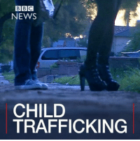 Memes, Bbc News, and 🤖: BBC  NEWS  CHILD  CHIFFICKING  TRAFFICKING 1 FEB: Police in California have announced the results of their biggest ever operation to find girls and young women forced into commercial sexual exploitation. They made almost 500 arrests and rescued more than fifty young people. BBC reporter Angus Crawford was given exclusive access and spent three days with the LAPD. Watch more: bbc.in-trafficked LosAngeles LAPD ChildTrafficking Prostitution SouthCentral BBCShorts BBCNews @BBCNews 