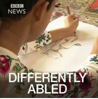 Being Alone, Love, and Memes: BBC  NEWS  DIFFERENTLY  ABLED 28 APR: Abandoned as a tiny, premature baby on the steps of a hospital in Cambodia, Tjili Grant Wetherill has cerebral palsy and is profoundly deaf. With the love and support of her adoptive parents, Tjili, who's now 16 and living in the UK, has overcome huge challenges. Doctors once thought she would struggle to sit, stand, walk or feed herself - let alone paint - but Tjili is now winning international recognition for her talent as an artist. For more on Tjili's story: bbc.in-tjili For another story of differently abled artists: bbc.in-merit Tjili DifferentlyAbled GiveItAGo Art Artist Painting Watercolour CerebralPalsy Disability BBCNews BBCShorts @Tjiligw @BBCNews