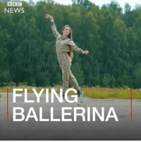 "Meet Ekaterina Voronina - a ballerina who's also taking to the skies as a pilot and breaking gender stereotypes. ""Every flight makes me happier,"" she says. ballet dance flight pilot work motivation sky smile happy ballerina: BBC  NEWS  FLYING  BALLERINA Meet Ekaterina Voronina - a ballerina who's also taking to the skies as a pilot and breaking gender stereotypes. ""Every flight makes me happier,"" she says. ballet dance flight pilot work motivation sky smile happy ballerina"