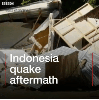 A powerful earthquake has struck the popular tourist destination of Lombok in Indonesia, killing at least 14 people. Tap the link in our bio to find out more about the 6.4 magnitude quake which happened just before 07:00 local time (00:00 GMT) on Sunday. More than 160 people were injured and thousands of homes have been damaged on the island which is located about 40km (25 miles) east of Bali. lombok indonesia earthquake bbcnews: BBC  ulie Silvester  Indonesia  quake  aftermath A powerful earthquake has struck the popular tourist destination of Lombok in Indonesia, killing at least 14 people. Tap the link in our bio to find out more about the 6.4 magnitude quake which happened just before 07:00 local time (00:00 GMT) on Sunday. More than 160 people were injured and thousands of homes have been damaged on the island which is located about 40km (25 miles) east of Bali. lombok indonesia earthquake bbcnews
