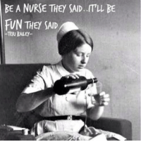 Some days are hard but being a nurse is always exciting! nursehumor nurselife nursing nursesrock nurseonduty rnlife wedoitbecauseweloveit nursesrock itsagift nurseonduty nursesunite: BE A NURSE THEY SAID..IT'LL BE  FUN THEY SAID  -TERI BALE Some days are hard but being a nurse is always exciting! nursehumor nurselife nursing nursesrock nurseonduty rnlife wedoitbecauseweloveit nursesrock itsagift nurseonduty nursesunite