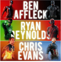Batman, Chris Evans, and Memes: BE  AFFLECI  RYAN  NEYNOLD  CHRIS  EVANS  IG OHE RO.LEAGUE Who redeemed himself the best? By @hero.league . dc dccomics dceu dcu dcrebirth dcnation dcextendeduniverse batman superman manofsteel thedarkknight wonderwoman justiceleague cyborg aquaman martianmanhunter greenlantern theflash greenarrow suicidesquad thejoker harleyquinn