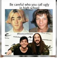 😎: Be careful who you call ugly  in high school  Atvric Chaice  @louiscumlinson  musicchoi  olee  musicchoice.com  서usi  com  aice 😎