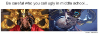 Halo, Meme, and Memes: Be careful who you call ugly in middle school..  HAL MEMES -Chris