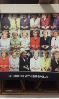 Be Careful, With, and Careful: BE CAREFUL WITH SUPERGLUE