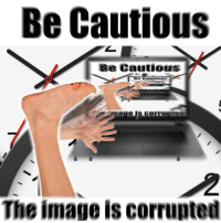 [Src]: Be Cautious  se Cautious  The image is corrupted [Src]
