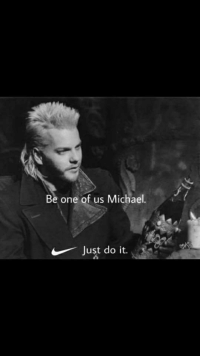 Just do it: Be one of us Michael.  Just do it.