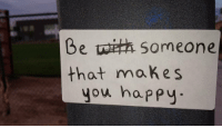 https://t.co/jU9LCTkoea: Be someone  that makes  you happy https://t.co/jU9LCTkoea