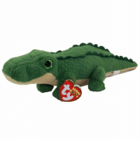 Tumblr, Alligator, and Blog: beaniebabyoftheday:  Spike the alligator