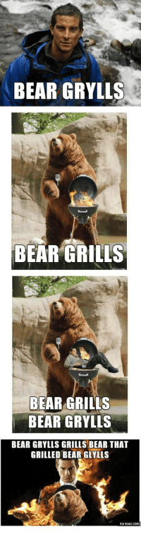 "<p>I can&rsquo;t BEAR the joke via /r/dank_meme <a href=""https://ift.tt/2Hf2iGP"">https://ift.tt/2Hf2iGP</a></p>: BEAR GRYLLS  BEAR GRILLS  BEAR GRILLS  BEAR GRYLLS  BEAR GRYLLS GRILLS BEAR THAT  GRILLED BEAR GLYLLS  VIA 9GAG COM <p>I can&rsquo;t BEAR the joke via /r/dank_meme <a href=""https://ift.tt/2Hf2iGP"">https://ift.tt/2Hf2iGP</a></p>"