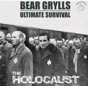 New on CBS by RadioNinja78 MORE MEMES HERE: BEAR GRYLLS  ULTIMATE SURVIVAL  HoLoCAUST New on CBS by RadioNinja78 MORE MEMES HERE