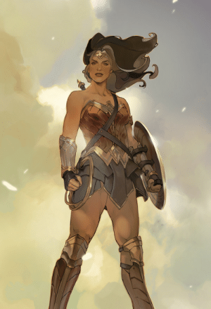 bear1na:  Wonder Woman by c_h_ud *: bear1na:  Wonder Woman by c_h_ud *