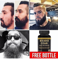The best beard growth products and Daily beard tips! @beardsczar is the only page that helps you grow your beard! Follow @beardsczar and claim your free products in their bio! I've used my Man Card to get a few discounts on their other products! @beardsczar actually filled my beard in🙏😎: BEARD  CZAR  FACIAL HAIR COMPLEX  E BOTTLE The best beard growth products and Daily beard tips! @beardsczar is the only page that helps you grow your beard! Follow @beardsczar and claim your free products in their bio! I've used my Man Card to get a few discounts on their other products! @beardsczar actually filled my beard in🙏😎