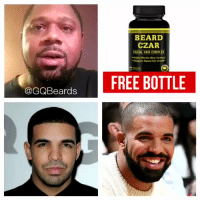 RT @GQBeards: How Drake grew his beard overnight. The science behind it: https://t.co/fHGjVenE0l https://t.co/mKVl2AMtUo: BEARD  CZAR  FACIAL HAIR COMPLEX  Supports Natural HairGw  @GQBeards RT @GQBeards: How Drake grew his beard overnight. The science behind it: https://t.co/fHGjVenE0l https://t.co/mKVl2AMtUo