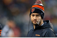 <p>It&rsquo;s game day! Hard to say if this will be Smokin&rsquo; Jay Cutler&rsquo;s last start ever for the Bears as they play the Minnesota Vikings, but win or lose it was one heck of a ride. Good luck Smokin&rsquo; Jay!</p> <p>Fan submission (courtesy of Kelly O.)</p>: BEARS <p>It&rsquo;s game day! Hard to say if this will be Smokin&rsquo; Jay Cutler&rsquo;s last start ever for the Bears as they play the Minnesota Vikings, but win or lose it was one heck of a ride. Good luck Smokin&rsquo; Jay!</p> <p>Fan submission (courtesy of Kelly O.)</p>