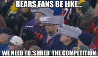 Chicago Bears vs. Green Bay Packers!: BEARS FANSBE LIKE.  UNFLINMEMEZ  WENEED TO SHRED THE COMPETITION Chicago Bears vs. Green Bay Packers!