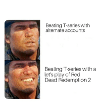 Red Dead Redemption, Red Dead, and Red: Beating T-series withh  alternate accounts  Beating T-series with a  let's play of Red  Dead Redemption 2  gflip.com