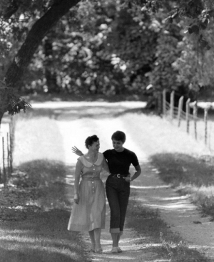 Beautiful, Lesbians, and Stan: beautiful-brides-weddings:  reallytrying:  legrandcirque: Stan Wayman, A lesbian couple strolling through the woods after their wedding, 1950s.  this is really the most romantic image i've ever seen  A historic reminder that lesbians did not wait for legal recognition to call each other wives and to hold ceremonies celebrating our marriages.