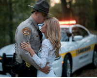 Beautiful engagement photo, home base Perry County Sheriff's Office, Perry County Missouri, the wedding date is 11/7/2017: Beautiful engagement photo, home base Perry County Sheriff's Office, Perry County Missouri, the wedding date is 11/7/2017