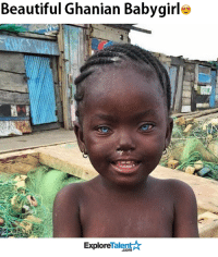 Beautiful, Memes, and Wow: Beautiful Ghanian Babygirle  Explore  alen  .com Wow, this is true unconditional love.