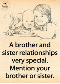 25+ Best Brother Sister Quotes Memes | Even Memes, Sister ...